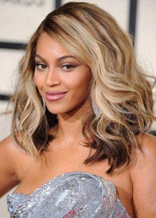Medium Shoulder Length Haircuts for Women 40-min
