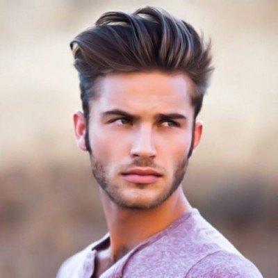 High comb over Mexican Hairstyle for men