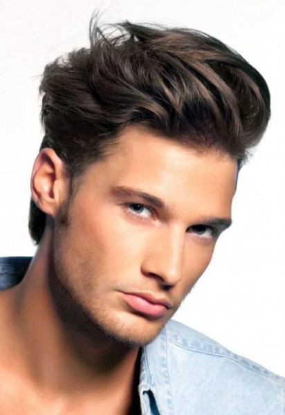 Men haircut for Mexican hair style
