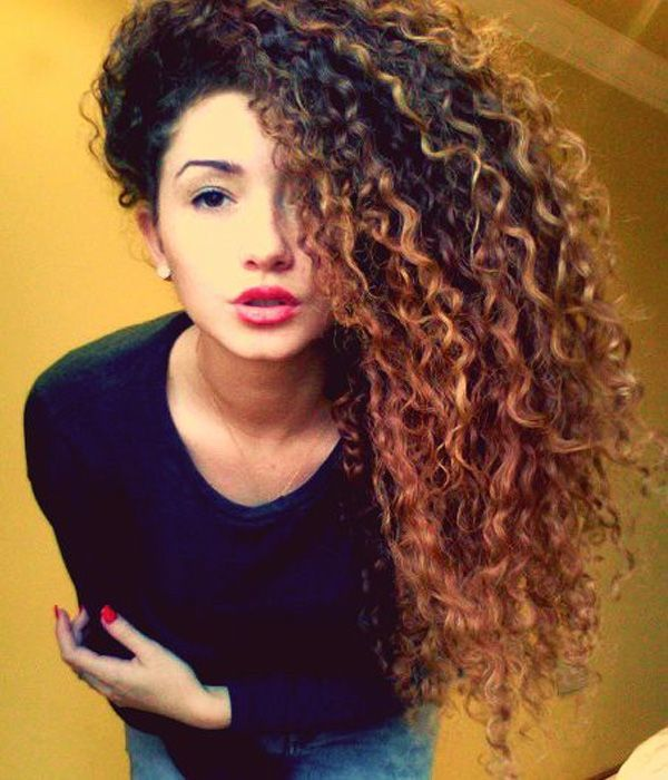 perm mexican hairstyle for teenage girls