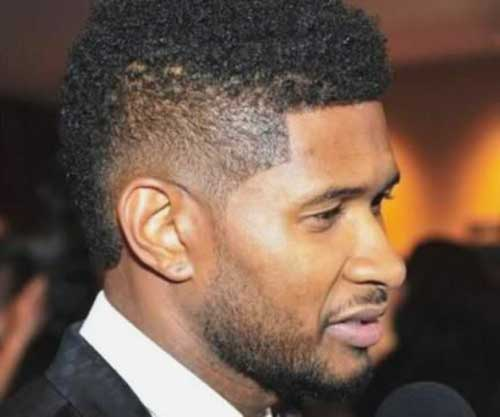 110 Kicky High Low Taper Fade Haircuts For Black Guys