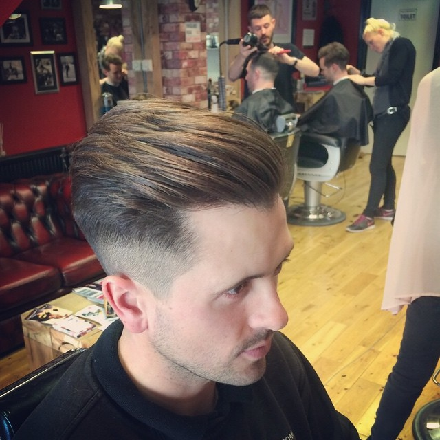 47 sexy old school haircuts for men hairstylecamp combed backward old school hairstyle winobraniefo Choice Image