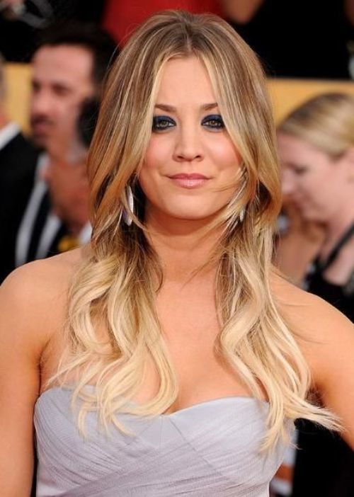 Ombre Hair Color Ideas with bangs 10