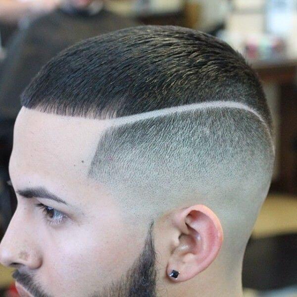 Very Short Pompadour Haircut