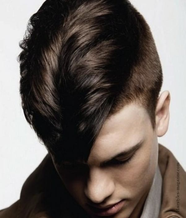 Undercut Hairstyle Men Ponytail