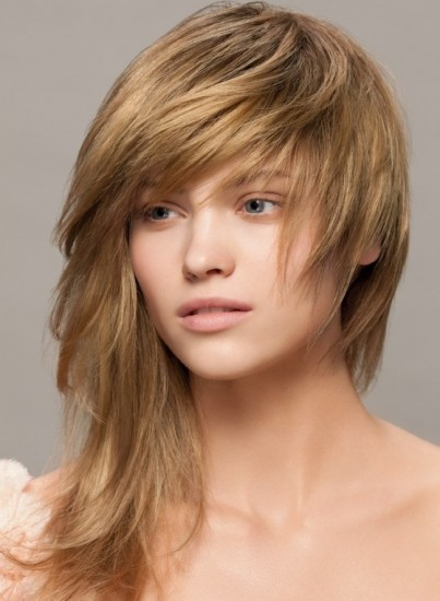 short bobs with bangs