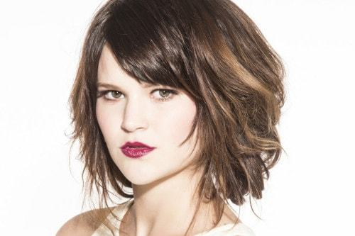 Short Haircuts for Women With Round Faces 30-min