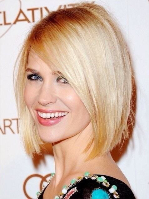Short Hairstyles for Long Faces 1-min