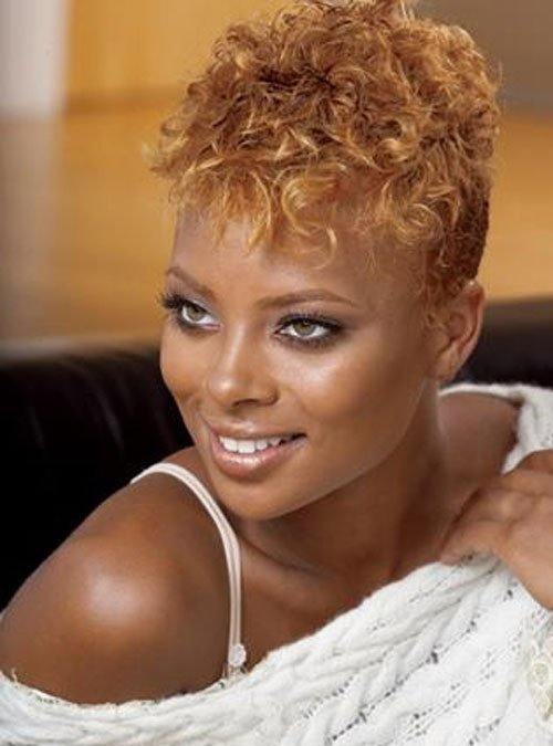 Short Natural Hairstyles for Women 1