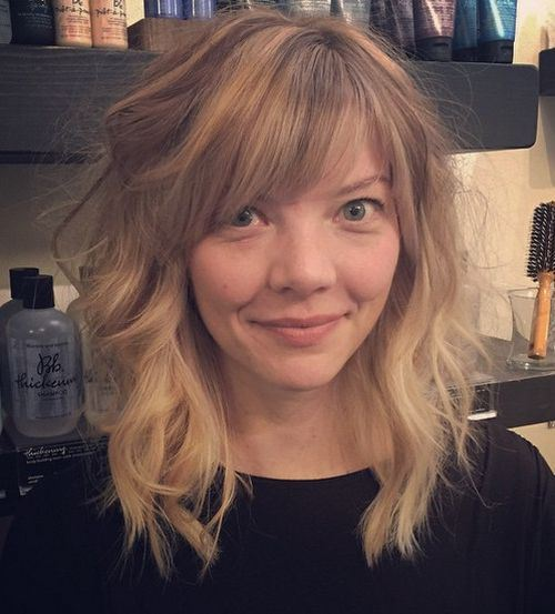 50 Best Short And Long Bangs Haircuts For Stylish Women