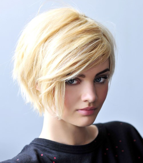 short girl Cute hair with blonde