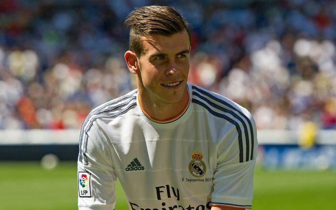 Gareth Bale's Layers haircut