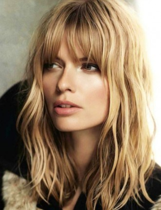 wispy hairstyles with bangs