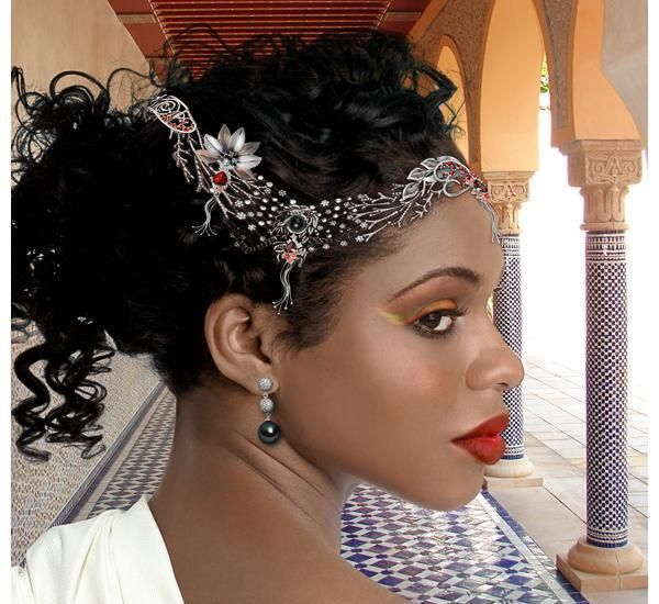 Lil Black Girl Hairstyles For Wedding : Handy wedding hairstyles for black brides to feel special