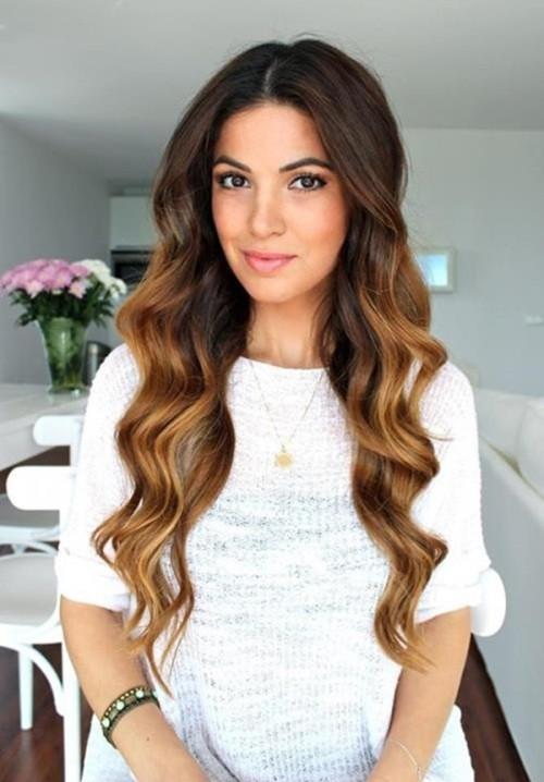 brown into caramel hair color