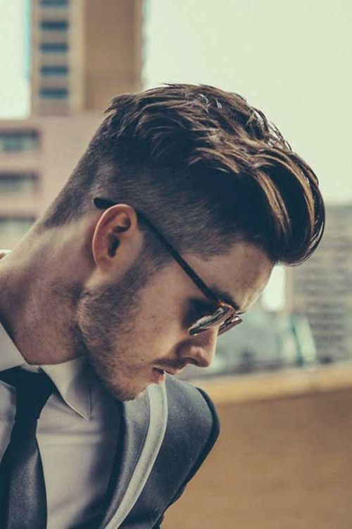 men undercut hairstyle 2016