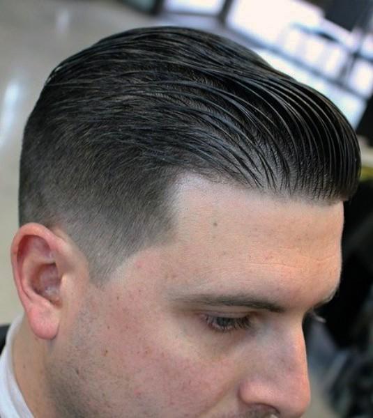 Military Undercut Hairstyle