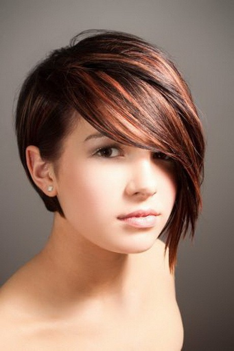 Awesome 49 Delightful Short Hairstyles For Teen Girls Hairstyles For Men Maxibearus