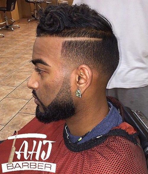 110 Kicky High & Low Taper Fade Haircuts for Black Guys