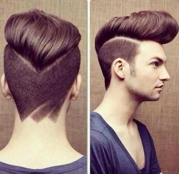 Johnny bravo haircut