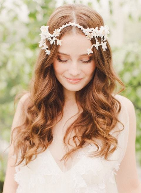 Nature wedding hairstyles for long hair