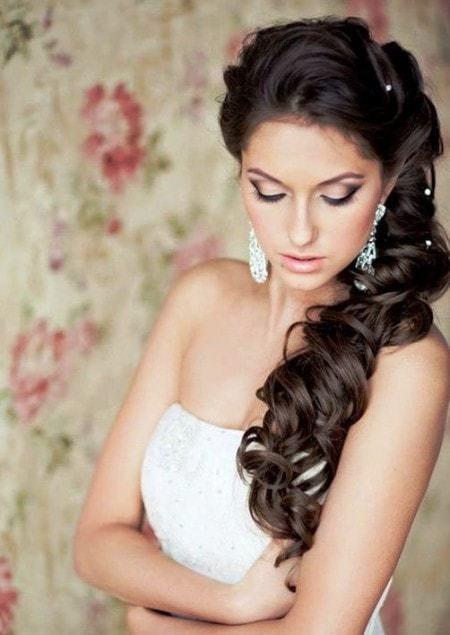 long marvelous wedding hairstyles