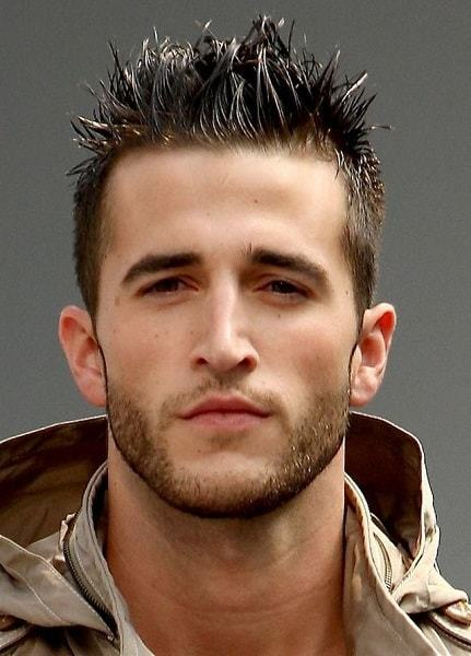 Best Short Spiky Hairstyles for men 17-min