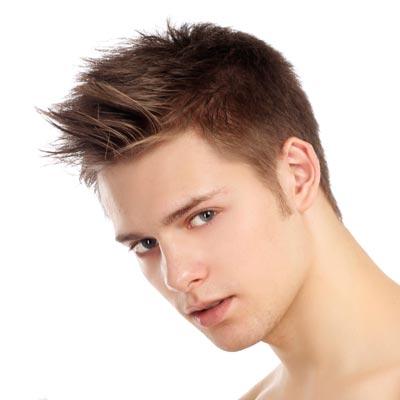 mens short spiky hairstyles