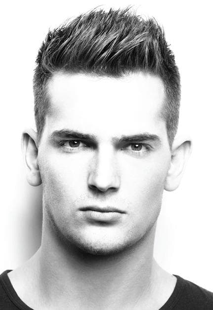 Best Short Spiky Hairstyles for men 4-min