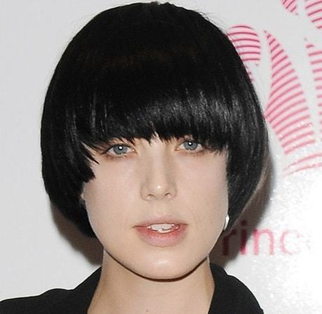 Bowl Cut Hair With Rounded Bob