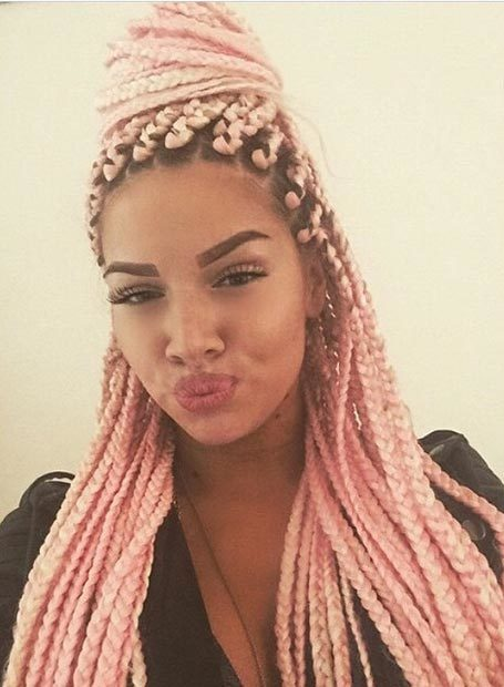 50 Funky Box Braids For Women To Wear With Pride Hairstylecamp
