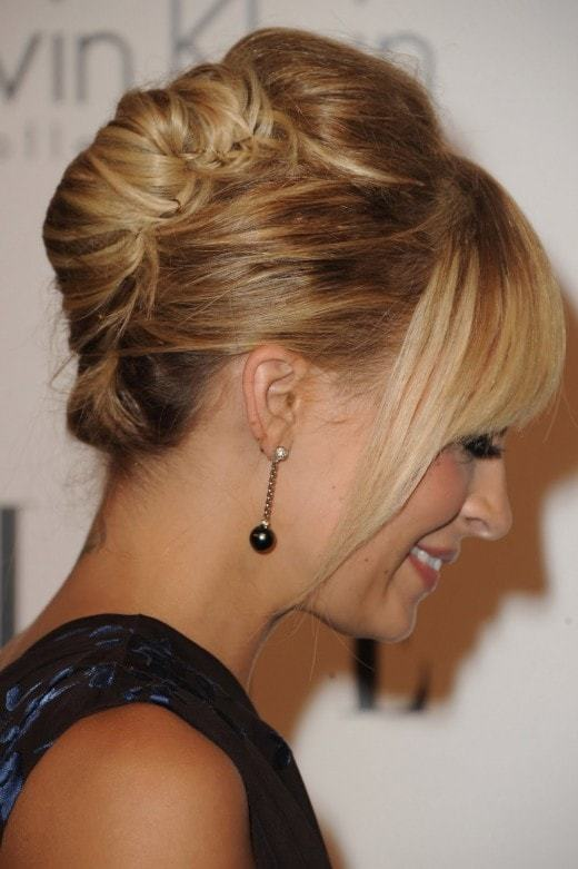 Chignon Bun Hairstyles Youll Definitely Love - Croissant hairstyle bun