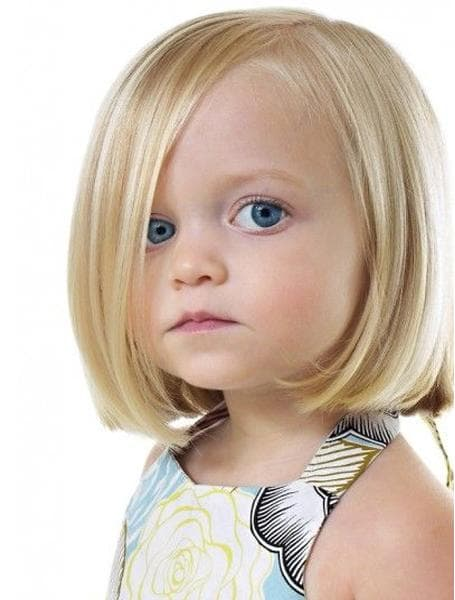Blunt bob with Toddler Girl Haircuts