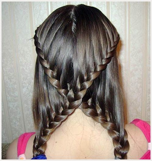 Easy Hairstyles For Short Hair For School : Cutest easy to do school girl hairstyles hairstylecamp