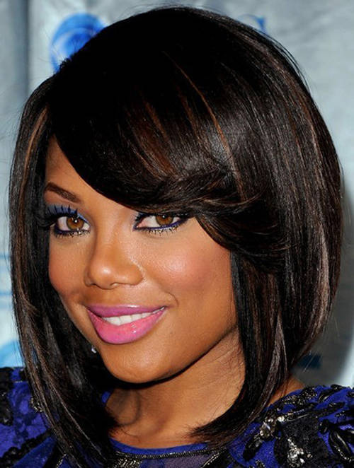bob hairstyles with weave cut
