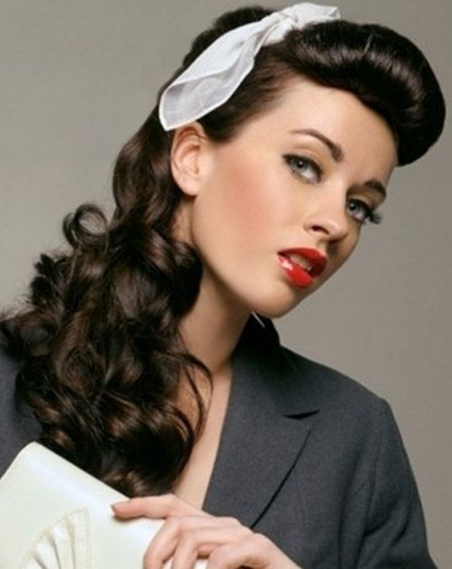 Pleasing 50 Easy Vintage Hairstyles For Glamourous Women Hairstylecamp Short Hairstyles Gunalazisus