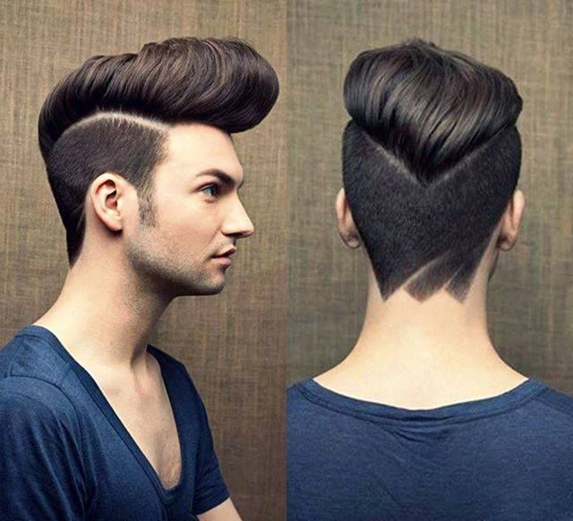 Awesome Young Boy Nice And Favorite Rockabilly Hairstyle