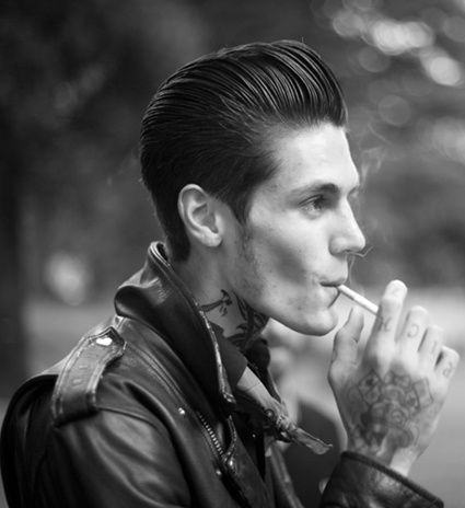 Surprising 25 Greaser Hairstyles For Men From 195039S Hairstylecamp Short Hairstyles Gunalazisus