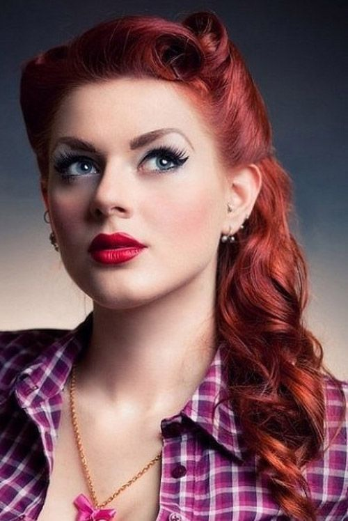 20 wild and impressive rockabilly hairstyles for women. Black Bedroom Furniture Sets. Home Design Ideas