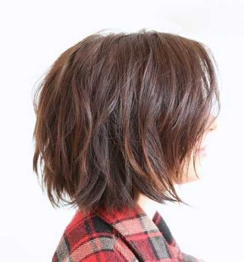 25 insanely popular layered bob hairstyles for women 2017 25 natural and messy urmus Gallery
