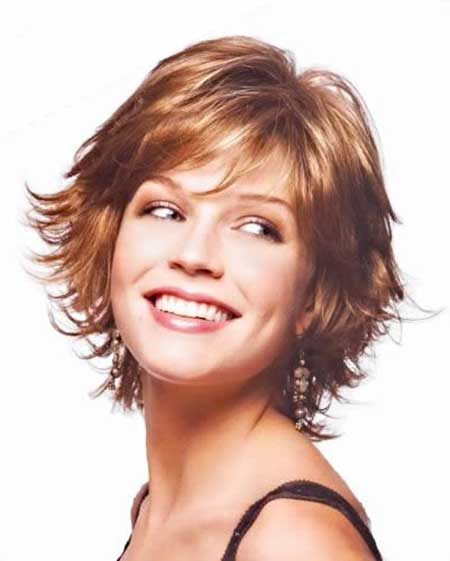 45 No Hassle Short Layered Hairstyles For Girls December 2020