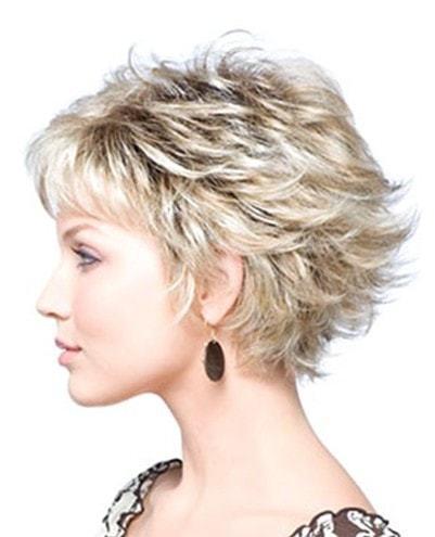 Blond layers haircut for beautiful women