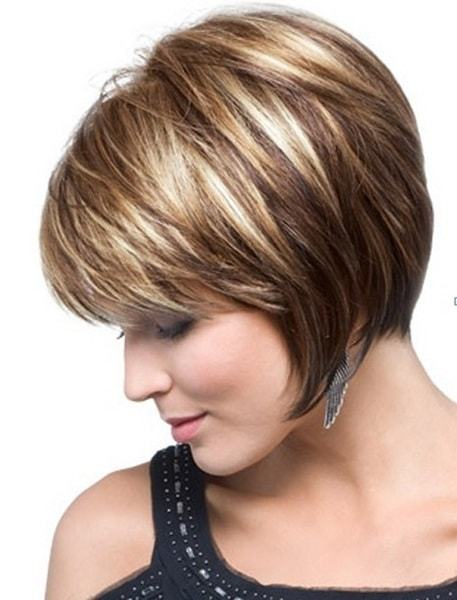 Short Layered Hairstyles popular layered short haircuts for mature women Asymmetrical Short Layered Hairstyles