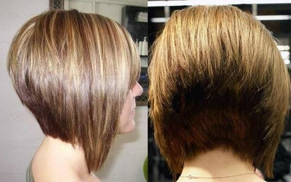 Short stacked bob hairstyles for women 11-min