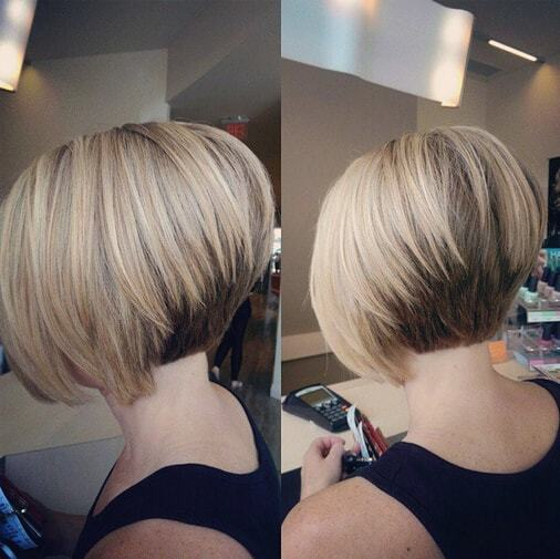 Short stacked bob hairstyles for women 18-min
