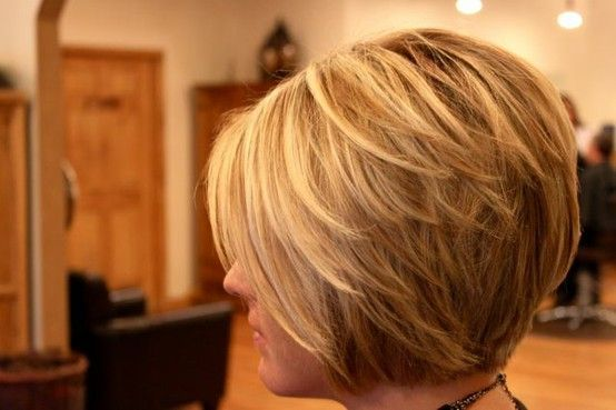 nice stacked bob hairstyles for women