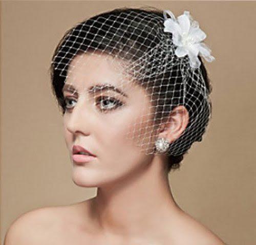 women wedding hairstyles for short hair