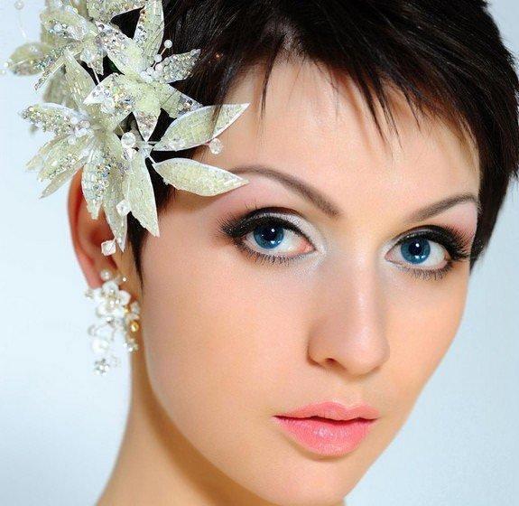 Short wedding hairstyles 25-min