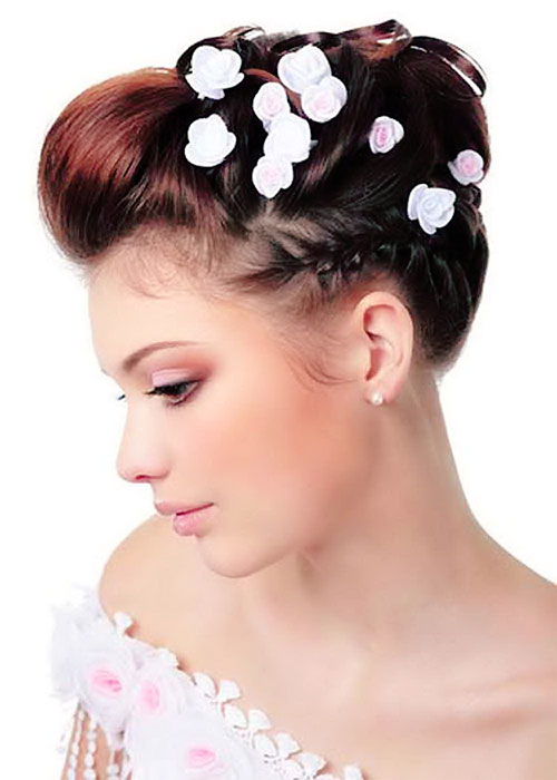 Short wedding hairstyles 6-min