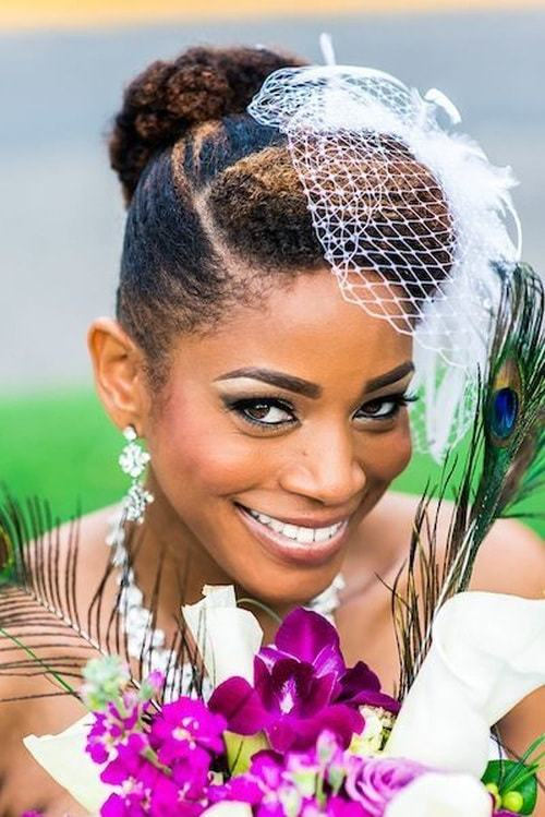 Phenomenal 25 Handy Wedding Hairstyles For Black Brides To Feel Special Short Hairstyles For Black Women Fulllsitofus